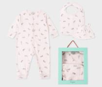 Baby Girls' Light Pink 'Safari Animals' Playwear Set