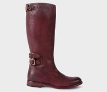 Bordeaux Leather 'Kings' Boots