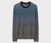 Navy Gradient Stripe Sweater
