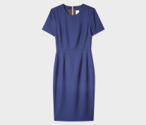 Blue Wool-Twill 'A Dress To Travel In'