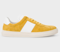 Yellow Suede 'Levon' Trainers