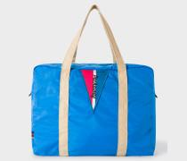 Blue Lightweight Packaway Gym Bag