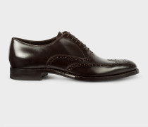 Dark Brown Calf Leather 'Clifton' Brogues