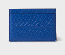 No.9 - Blue Leather Card Holder