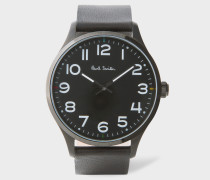 Black 'Tempo' Watch