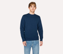 Navy Organic-Cotton Sweatshirt