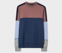 Colour-Block Cotton Sweatshirt