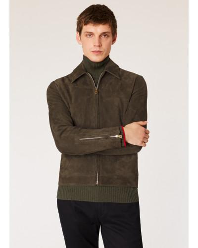 Dark Brown Suede Jacket