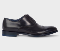 Dark Navy Calf Leather 'Bertin' Brogues
