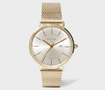 Unisex Gold 'Petit Track' Watch