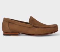 Tan Nubuck 'Danny' Loafers