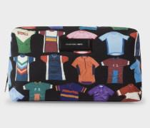 'Cycle Jersey' Print Wash Bag