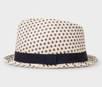Polka Dot Trilby Hat