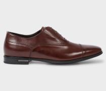 Dark Brown Leather 'Morton' Oxford Shoes