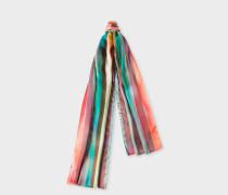 'Artist Stripe' Silk Scarf