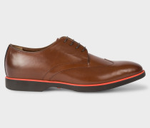 Tan Leather 'Willis' Derby Shoes