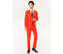 The Kensington - Slim-Fit Red Wool-Mohair Suit