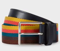 'Artist Stripe' Webbing Belt