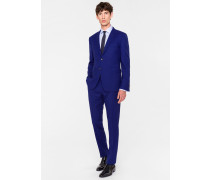 The Kensington - Slim-Fit Indigo Wool 'Suit To Travel In'