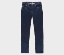 Slim-Fit 12oz 'Authentic Comfort Stretch' Indigo-Rinse Jeans
