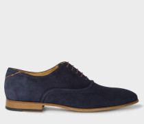 Navy Suede 'Starling' Shoes