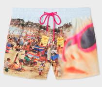 Martin Parr 'Beach' Print Swim Shorts