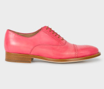 Pink Leather 'Bertie' Brogues