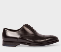 Black Calf Leather 'Bertin' Brogues