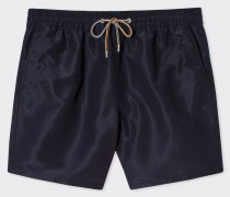 Black Long Swim Shorts