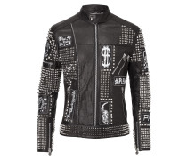 "leather jacket ""backstage"""