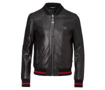 """leather jacket """"reddish"""""""