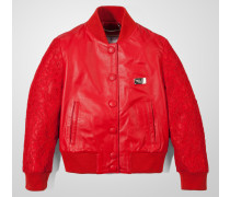 "leather jacket ""lace me"""