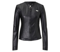 """Leather Jacket """"Silver"""""""