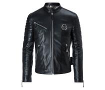 "Leather Moto Jacket ""The one"""