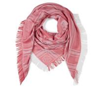 "square scarf ""geometrical life"""