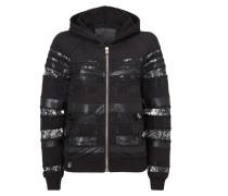 """hooded jacket """"papi pacify"""""""