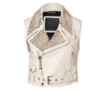 "leather vest ""lucrezia"""