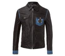 "leather jacket ""monaco"""