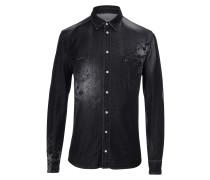 "Denim Shirt Ls ""Tatoo"""