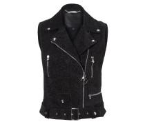 "Leather Vest ""Ouagadougou"""