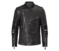 "Leather Moto Jacket ""Future"""