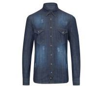 "Denim shirt ""Hiva"""