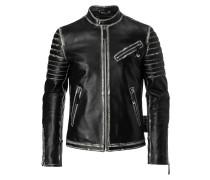 """Leather Moto Jacket """"Old"""""""