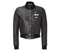 """leather bomber """"small enemy"""""""