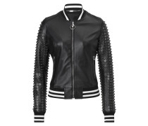 "Leather bomber ""25"""
