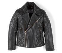 "leather jacket ""meow"""