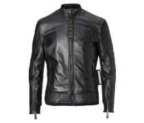 "Leather Moto Jacket ""Odell"""
