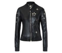 "Leather Bomber ""Chris"""