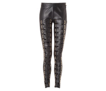 """Leather Trousers Long """"Heliodor"""""""