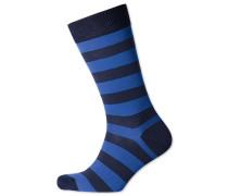 Socken in MarineBlau und Königsblau